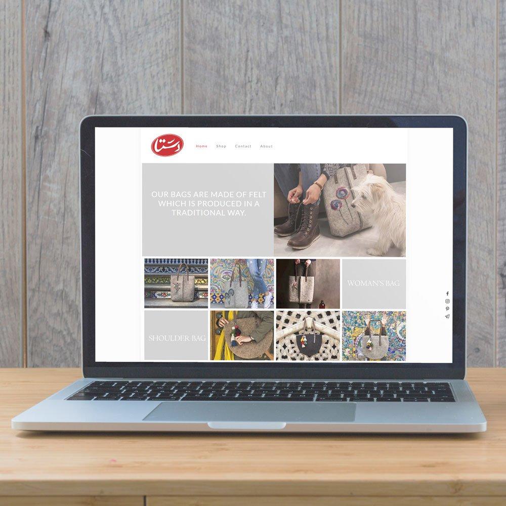 طراحی فروشگاه اینترنتی دستا