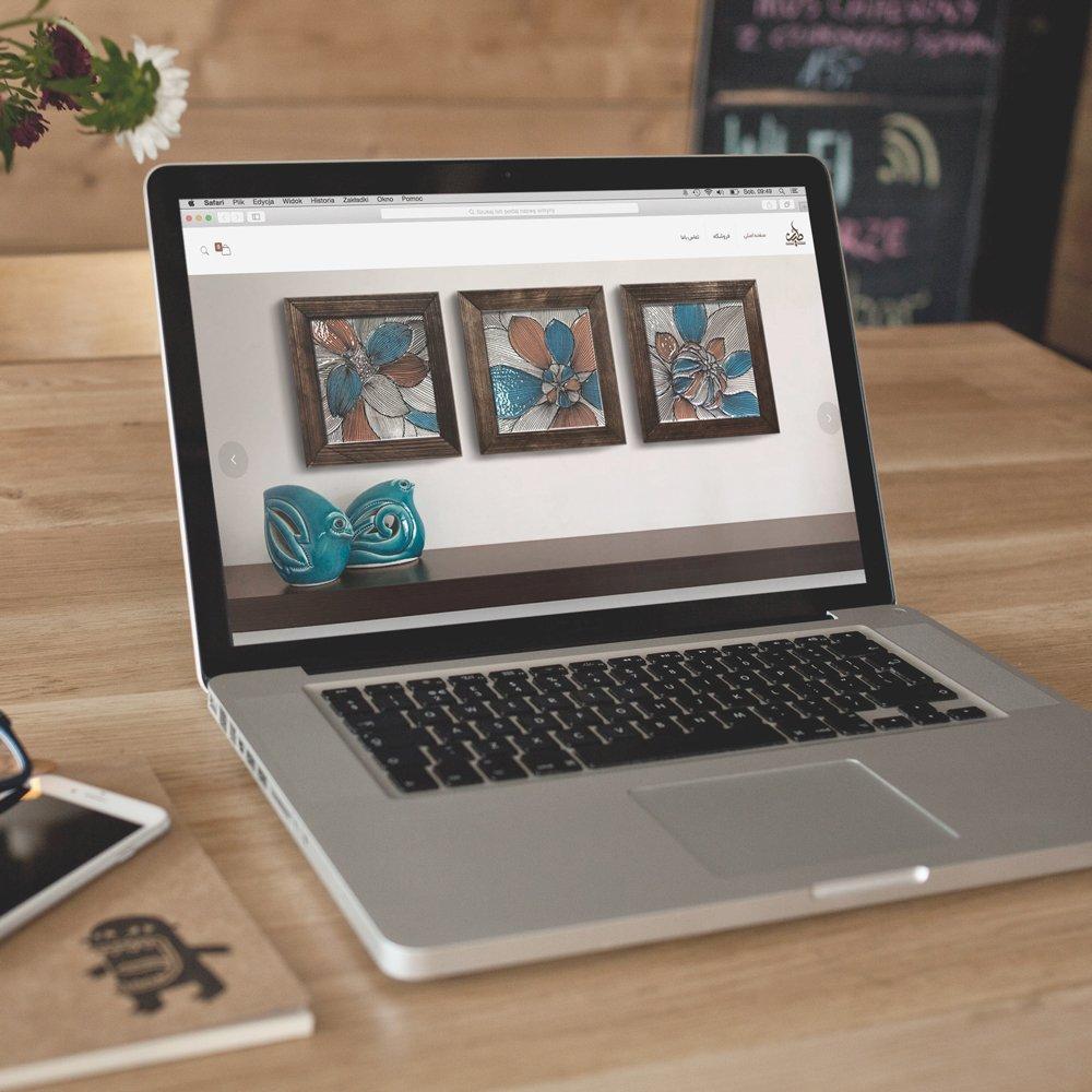 طراحی سایت فروش صنایع دستی